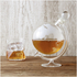 Glass Globe Whisky Decanter: Image 1