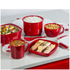 Tower T90814R Microwave Noodle Bowl 940ml: Image 4