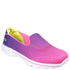 Skechers Kids' Go Walk 3 Shoes - Purple/Pink: Image 1