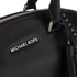 MICHAEL MICHAEL KORS Women's Riley Large Grommet Satchel - Black: Image 4