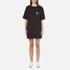Marc Jacobs Women's T-Shirt Dress with Emblem - Black: Image 1