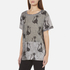 Marc Jacobs Women's Skater Patchwork Cat T-Shirt - Grey/Multi: Image 2