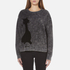 Marc Jacobs Women's Long Sleeve Crew Neck Cat Sweatshirt - Grey: Image 1