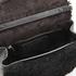 Marc Jacobs Women's The Jane West End Shearling Saddle Bag - Black: Image 6