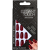 Elegant Touch Trend After Dark Nails - Red Nail Squaletto/Steel The Night: Image 1