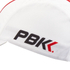 PBK Technical Cycling Cap - White: Image 4