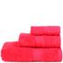 Restmor Knightsbridge 100% Egyptian Cotton 3 Piece Towel Bale Set (500gsm) - Red: Image 1