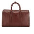 Ted Baker Men's Shalala Leather Holdall Bag - Tan: Image 6