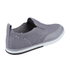 Rockport Men's Weekend Style Leather Slip On Trainers - Grey: Image 2