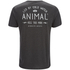 Animal Men's Crafted Back Print T-Shirt - Dark Charcoal Marl: Image 2