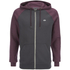 Animal Men's Jump Raglan Zip Through Hoody - Mauve Purple Marl: Image 1