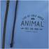 Animal Men's Shiver Zip Through Back Print Hoody - Royale Blue: Image 3