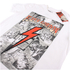Flash Gordon Mens Comic Strip T-Shirt - Wit: Image 3