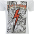 Flash Gordon Mens Comic Strip T-Shirt - Wit: Image 5