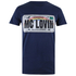 Superbad Men's Reg Plate T-Shirt - Navy: Image 1