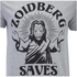 Futurama Men's Zoidberg Saves T-Shirt - Grey Marl: Image 4