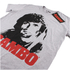 Rambo Men's Face T-Shirt - Grey Marl: Image 3