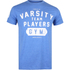 Varsity Team Players Men's Gym T-Shirt - Heather Royal: Image 1