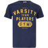 Varsity Team Players Men's Gym T-Shirt - Navy: Image 1