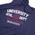 Varsity Team Players Men's University Athletic Hoody - Navy: Image 3