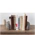 Lyon Beton Concrete Gray Matters Book Ends: Image 2