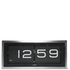 LEFF Amsterdam Brick Wall & Desk Clock - Stainless Steel: Image 1