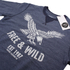 Cotton Soul Men's Free & Wild Sweatshirt - Navy Marl: Image 2