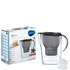 BRITA Marella Cool Water Filter Jug - Black Glitter (2.4L): Image 2