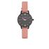 Olivia Burton Women's After Dark Midi Watch - Black/Dusty Pink: Image 1