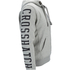 Crosshatch Men's Clarkwell Borg Lined Zip Through Hoody - Grey Marl: Image 4