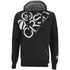 Crosshatch Men's Flashpoint Borg Lined Pull On Hoody - Black: Image 1