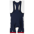 adidas Men's Team GB Replica Cycling Bib Shorts - Blue: Image 8