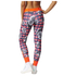 adidas Women's Stella Sport Print Training Tights - Blue/Pink: Image 3