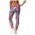 adidas Women's Stella Sport Print Training Tights - Blue/Pink: Image 3