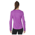 adidas Women's Sequencials Climalite Running Long Sleeve T-Shirt - Purple: Image 3