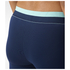 adidas Women's Stella Sport Long Mesh Training Tights - Blue/Pink: Image 5
