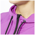 adidas Women's Full Zip Training Gym Hoody - Purple: Image 5