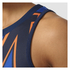 adidas Women's Stella Sport College Training Tank Top - Blue/Orange: Image 6