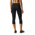 adidas Women's Ultimate Fit Training 3/4 Tights - Black: Image 5
