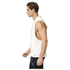 adidas Men's HVY Terry Training Tank Top - White: Image 2