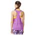 adidas Women's Deep Armhole Training Tank Top - Purple: Image 3