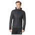 adidas Men's Pure Amp Running Jacket - Black: Image 1