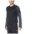 adidas Men's Response Long Sleeve Running T-Shirt - Black: Image 7