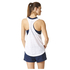adidas Women's Lightweight Training Tank Top - White: Image 3