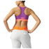 adidas Women's Stella Sport Padded Training Sports Bra - Purple: Image 3
