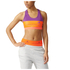 adidas Women's Stella Sport Padded Training Sports Bra - Purple: Image 1