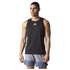 adidas Men's Sequencials Running Singlet - Black: Image 1