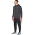 Under Armour Men's Triblend Full Zip Hoody - Asphalt Heather: Image 4