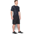 Under Armour Men's HeatGear Armour Printed Short Sleeve Compression T-Shirt - Black/Steel: Image 4