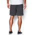 Under Armour Men's Raid International Shorts - Steel/Black: Image 4